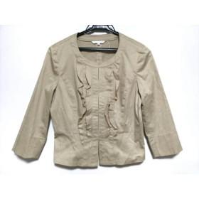 【中古】 アナイ ANAYI ジャケット サイズ38 M レディース ベージュ フリル