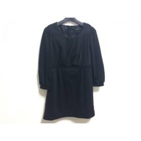 【中古】 コトゥー COTOO ワンピース サイズ38 M レディース 黒
