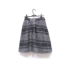 【中古】 フィロソフィーディアルベルタフェレッティ スカート サイズ38 M レディース グレイ