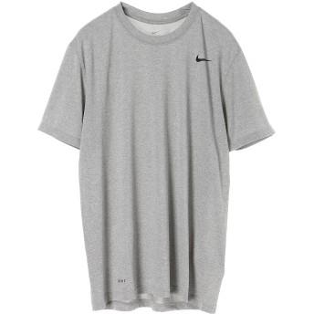 NIKE men's 「リアルストア連動品番」ナイキ DRI-FIT レジェンド S/S Tシャツ ランニング・トレーニングウェア,ダークグレーヘザー