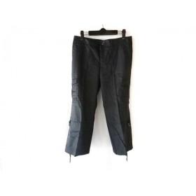 【中古】 バーバリーロンドン Burberry LONDON パンツ サイズ40 L レディース ネイビー