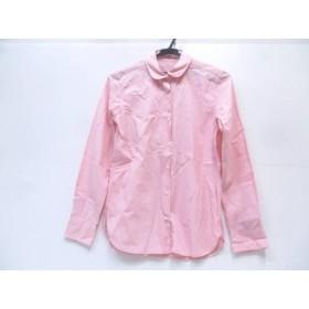 【中古】 ノーブランド 長袖シャツ サイズM メンズ ピンク