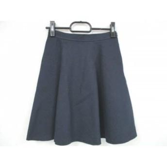 【中古】 ジャスグリッティー JUSGLITTY スカート サイズ0 XS レディース ダークネイビー
