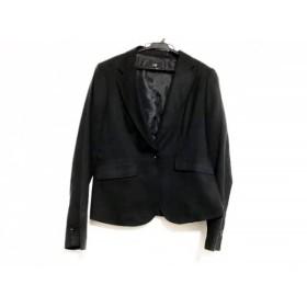【中古】 ニジュウサンク 23区 ジャケット サイズ40 M レディース 黒
