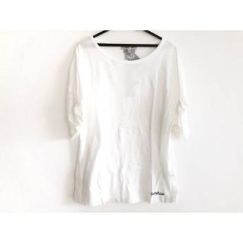 【中古】 シーバイクロエ SEE BY CHLOE 半袖Tシャツ サイズ38 M レディース 白 黒