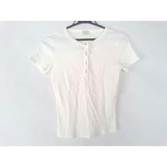 【中古】 クリッツィアマグリア KRIZIA MAGLIA 半袖Tシャツ サイズ44 L レディース 白