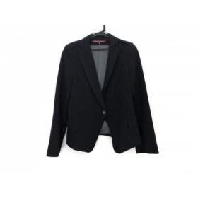 【中古】 コントワーデコトニエ COMPTOIR DES COTONNIERS ジャケット サイズ36 S レディース 黒 肩パッド