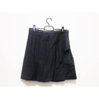 【中古】 アンテプリマ ANTEPRIMA スカート サイズ40 M レディース 黒 ダークグレー