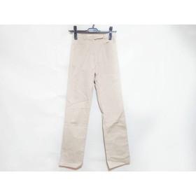 【中古】 ニジュウサンク 23区 パンツ サイズ36 S レディース ベージュ
