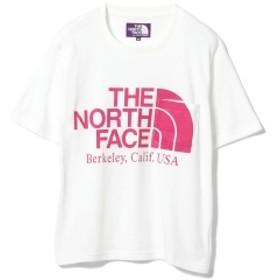 THE NORTH FACE PURPLE LABEL / ロゴ ポケットTシャツ● レディース Tシャツ WHITE ONE SIZE