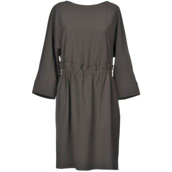 《期間限定セール開催中!》ARMANI COLLEZIONI レディース ミニワンピース&ドレス 鉛色 40 ポリエステル 100%