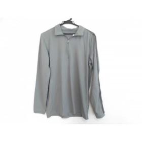 【中古】 ラルフローレン RLX(RalphLauren) 長袖ポロシャツ サイズS メンズ カーキ グレー ハーフジップ