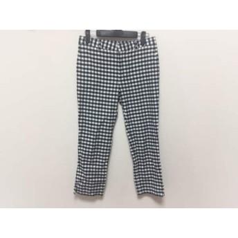 【中古】 トゥモローランド TOMORROWLAND パンツ サイズ36 S レディース 黒 白