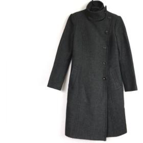 【中古】 ジャックヘンリー JACK HENRY コート サイズ38 M レディース ダークグレー 冬物
