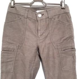 【中古】 ニジュウサンク 23区 パンツ サイズ32 XS レディース ブラウン