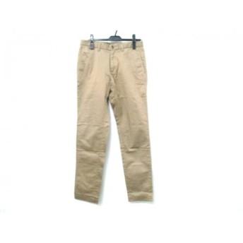 【中古】 タケオキクチ TAKEOKIKUCHI パンツ サイズ2 M メンズ ベージュ