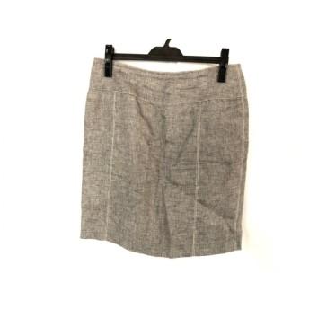 【中古】 アルマーニコレッツォーニ ARMANICOLLEZIONI スカート サイズ44 L レディース ブラウン