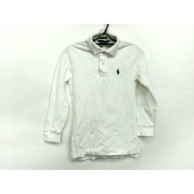 【中古】 ラルフローレン RalphLauren 長袖ポロシャツ サイズXS レディース 白