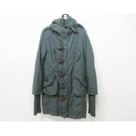 【中古】 スライ SLY コート サイズS レディース ダークグリーン 冬物
