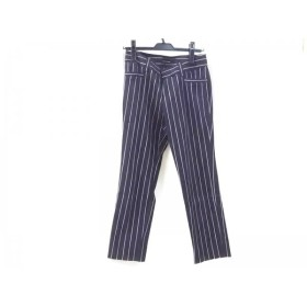 【中古】 コムサデモード COMME CA DU MODE パンツ サイズ9 M レディース ブラック グレー