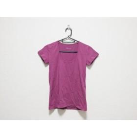 【中古】 セオリー theory 半袖Tシャツ サイズ2 S レディース パープル