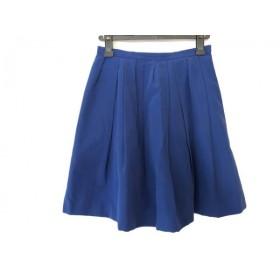 【中古】 アプワイザーリッシェ Apuweiser-riche スカート サイズ2 M レディース ブルー
