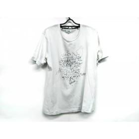 【中古】 ランバンオンブルー LANVIN en Bleu 半袖Tシャツ サイズ50 メンズ 白 マルチ