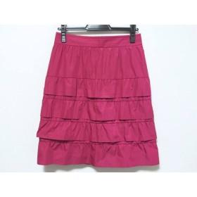 【中古】 ボディドレッシングデラックス BODY DRESSING Deluxe スカート サイズ38 M レディース レッド