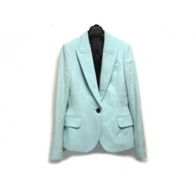 【中古】 ルシェルブルー LE CIEL BLEU ジャケット サイズ38 M レディース ライトブルー