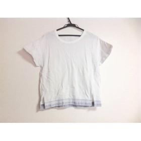 【中古】 エミ emmi 半袖Tシャツ レディース 白 ライトグレー studio
