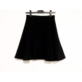 【中古】 レベッカミンコフ REBECCA MINKOFF スカート サイズ0 XS レディース 黒