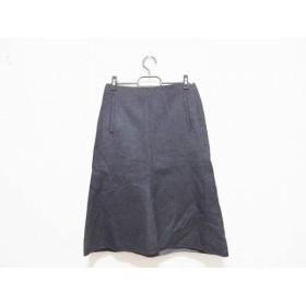 【中古】 セオリー theory ロングスカート サイズ0 XS レディース 美品 ダークグレー