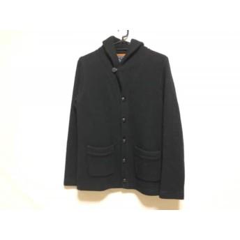 【中古】 アバハウス ABAHOUSE ジャケット サイズ3 L レディース 黒 ニット