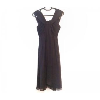 【中古】 ビアッジョブルー Viaggio Blu ドレス レディース 黒