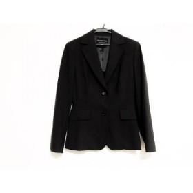 【中古】 ストロベリーフィールズ STRAWBERRY-FIELDS ジャケット サイズ1 S レディース 黒 肩パッド