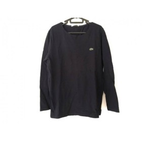 【中古】 ラコステ Lacoste 長袖Tシャツ サイズ4 XL メンズ ダークネイビー