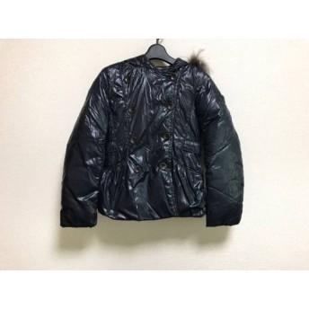【中古】 タトラス TATRAS ダウンジャケット サイズ34 XS レディース ネイビー 冬物