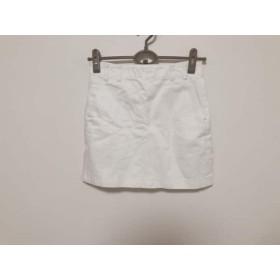 【中古】 オープニングセレモニー ミニスカート サイズ38 M レディース 白 Kiko Mizuhara