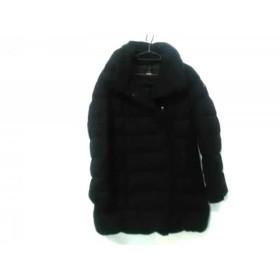 【中古】 タトラス TATRAS ダウンコート サイズ2 M レディース LTA4228 黒 冬物