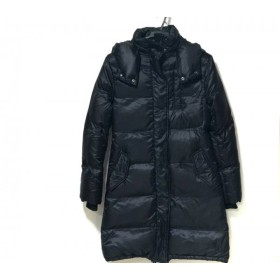 【中古】 コントワーデコトニエ COMPTOIR DES COTONNIERS ダウンコート サイズ34 S レディース 黒 冬物