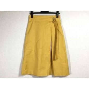 【中古】 ヴィヴィアンタム VIVIENNE TAM スカート サイズ38 M レディース 美品 イエロー