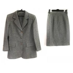 【中古】 49アベニュージュンコシマダ スカートスーツ サイズ9 M レディース ライトグレー