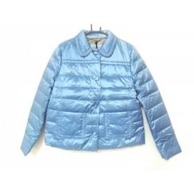 【中古】 プラダ PRADA ダウンジャケット サイズ44 L レディース ブルー 冬物/2015年