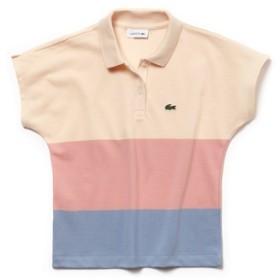 Girls カラーブロック プチピケ ポロシャツ