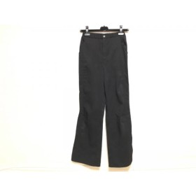 【中古】 ヒロコビス HIROKO BIS パンツ サイズ9 M レディース 黒