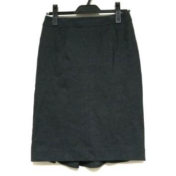 【中古】 ピンキー&ダイアン Pinky & Dianne スカート サイズ38 M レディース 美品 黒 ダークグレー