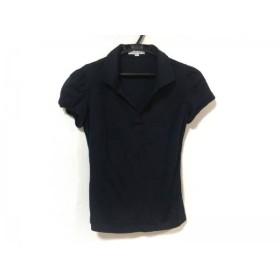 【中古】 ナラカミーチェ NARACAMICIE 半袖ポロシャツ サイズ0 XS レディース ダークネイビー