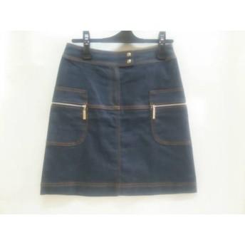 【中古】 クレイサス CLATHAS スカート サイズ38 M レディース グレー