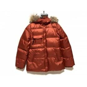 【中古】 レーシーラディアント racy radiant ダウンジャケット サイズLR レディース レッド 冬物