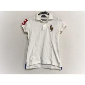 【中古】 ラルフローレン RalphLauren 半袖ポロシャツ サイズS レディース 白